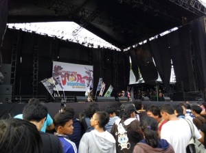 The stage in Countdown Asia